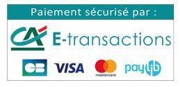 paiement sécurisé par le crédit agricole par CB visa mastercard et paylib